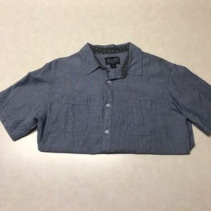 Retrofit Brand Mfg Short Sleeve Button Down